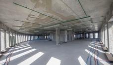 Im 17. Stockwerk von Fili Grad entsteht auf einer Fläche von 1 155 Quadratmetern gerade das neue AHK-Büro. /Hans-Jürgen Burkhard, für AHK Russland