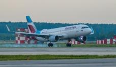 Foto Lufthansa-Tochter Eurowings auf dem Flughafen Kolzowo in Jekaterinburg 2R8A5914_2000_1333