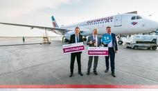 Foto Lufthansa-Tochter Eurowings auf dem Flughafen Kolzowo in Jekaterinburg 2R8A6231_2000_1333