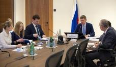 Deutsch-Russischer Unternehmerrat Erste Sitzung 2