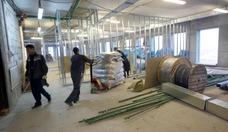 Beginn des Innenausbaus, 1. Oktoberwoche / Jewgenij Kondakow, für AHK Russland